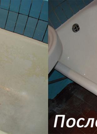 Реставрация ванн без демонтажа