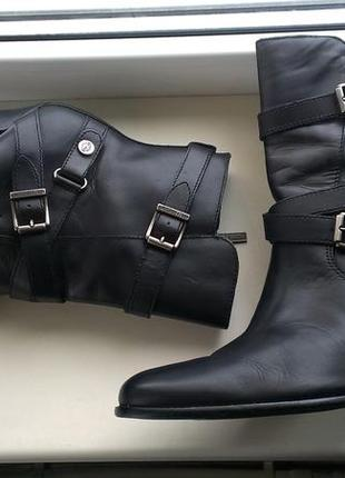 Кожаные ботинки, сапоги harley davidson