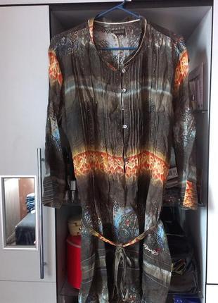 Платье napapijri. ткань рами