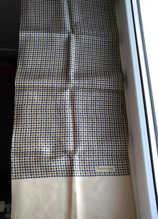 Шелковый шарф aquascutum