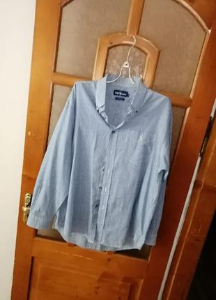 Фирменая рубашка  ralph lauren