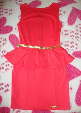 Платье - баска