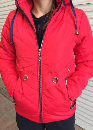 Женская куртка - осень