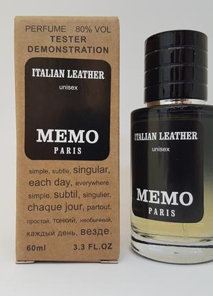 Memo Italian Leather - Selective Tester 60ml