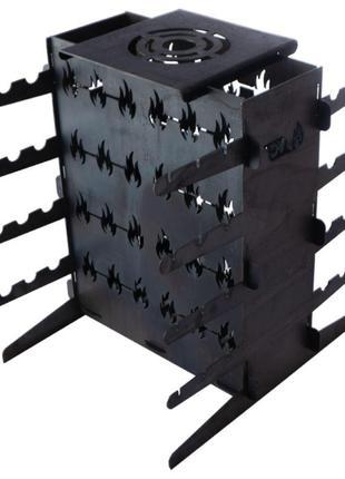 Мангал вертикальный DV - 420 x 350 x 140 x 2 мм (Х80)