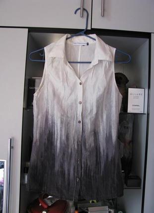 Шелковая блуза trussardi