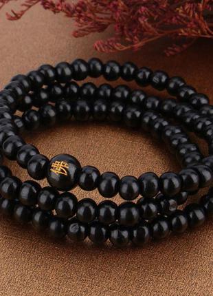 Красивый браслет из сандала (мужской, женский, унисекс)