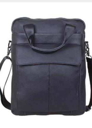 Качественная большая сумка из натуральной кожи