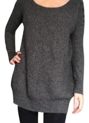 Джемпер allsaints grey ursula jumper