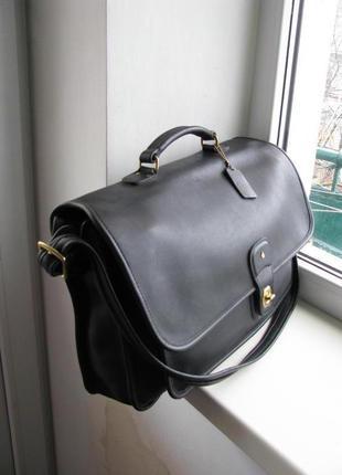 Кожаная сумка, портфель coach