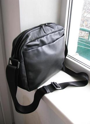 Кожаная сумка, портфель bree