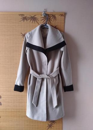 Шерстяное пальто альто liu jo