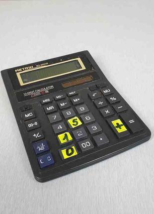 Калькуляторы Б/У Metrix MX 888HB