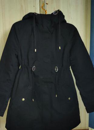 Куртка  парка, женская парка (холодная осень, весна )