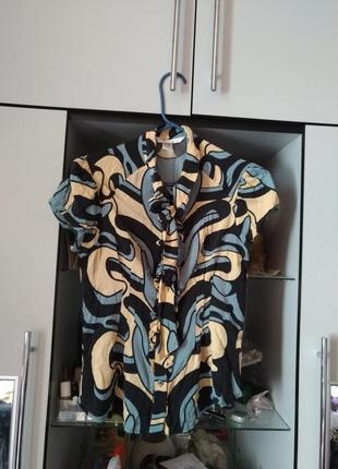 Шелковая блуза, рубашка diane von furstenberg