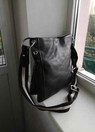 Кожаная сумка bally