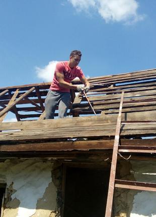 Демонтаж сараев, дачных домиков, заборов