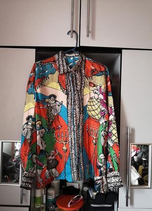 Шелковая рубашка en soie