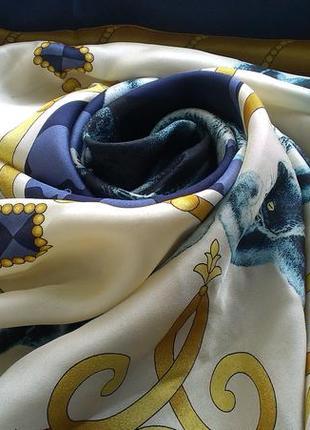Шелковый платок sheba. италия