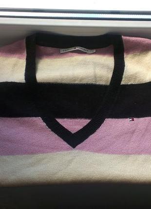 Шерстяной свитер tommy hilfiger