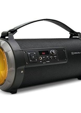 Колонка Bluetooth Бумбокс REAL-EL X-730 Black