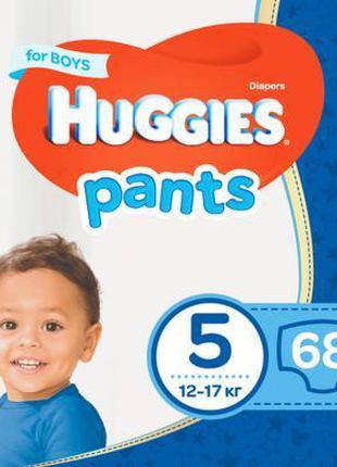 Подгузник Huggies Pants 5 для мальчиков (12-17 кг) 68 шт (5029...