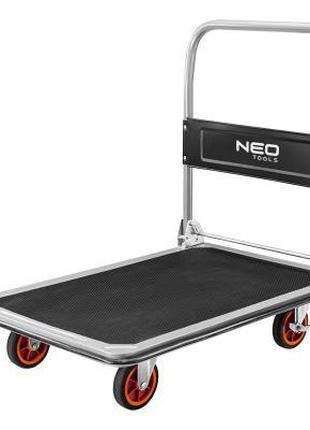 Тележка грузовая транспортная, платформенная, Neo Tools 4-х ко...