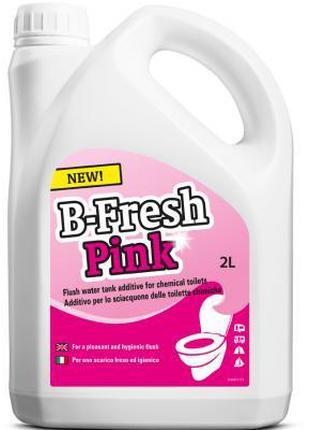 Средство для дезодорации биотуалетов Thetford B-Fresh Pink 2 л...
