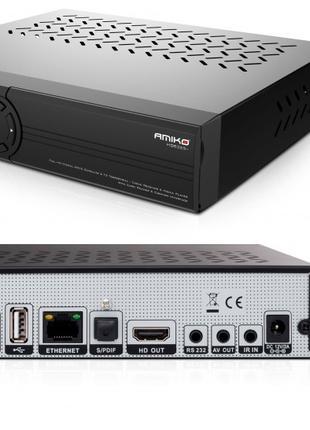Цифровой комбинированный ТВ тюнер Amiko HD8265+ (спутниковый, ...