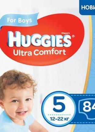 Подгузник Huggies Ultra Comfort 5 Box для мальчиков (12-22 кг)...