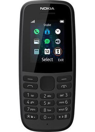 Мобильный телефон Nokia 105 DS 2019 Black (16KIGB01A01)