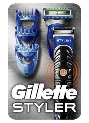 Бритва Gillette Fusion ProGlide Styler с кассетой+3 насадки дл...