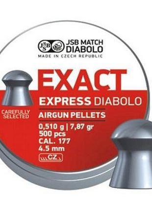 Пневматические пули JSB Diablo Exact Express, 4.5 мм, 500 шт. ...