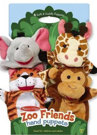 Набор для творчества Melissa&Doug; Кукольный театр Зоопарк (MD...