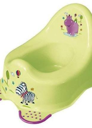 Горшок keeeper Hippo, зеленый (8648G)