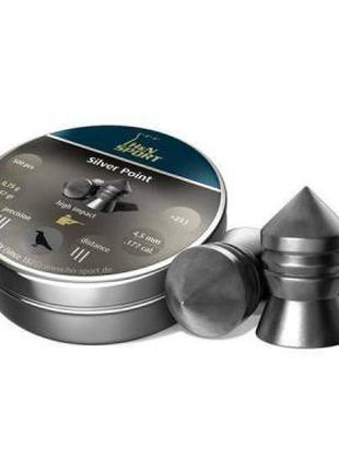 Пневматические пули Haendler & Natermann Silver Point, 4.5 мм,...