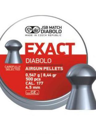 Пневматические пули JSB Diabolo Exact, 4.5 мм, 500 шт. (546239...
