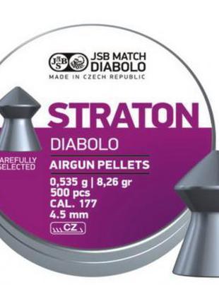 Пневматические пули JSB Diabolo Straton, 4.5 мм, 500 шт. (5461...