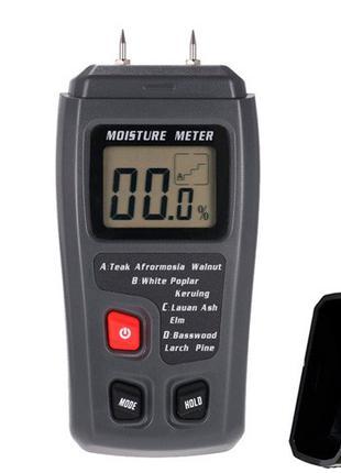 Цифровой измеритель влажности древесины влагомер 0-99.9% EMT01...