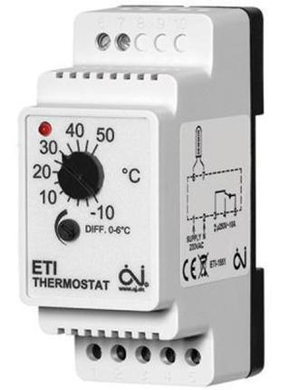 Терморегулятор OJ Electronics ETI-1551 (000004148)