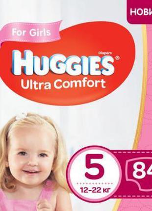 Подгузник Huggies Ultra Comfort 5 Box для девочек (12-22 кг) 8...