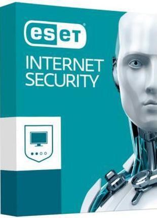 Лицензия на антивирус ESET Internet Security для 3 ПК на 2 год...