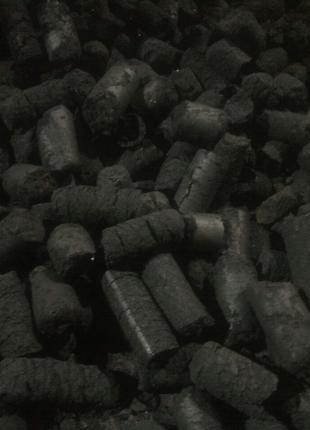 Торфобрикеты. Торфяной топливный брикет.