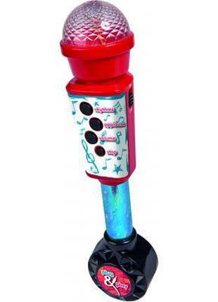 Музыкальная игрушка Simba Микрофон 28 см с разъемом для МР3 пл...