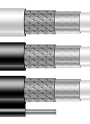 TV кабель FinMark F690BVM black, трос (305 м)