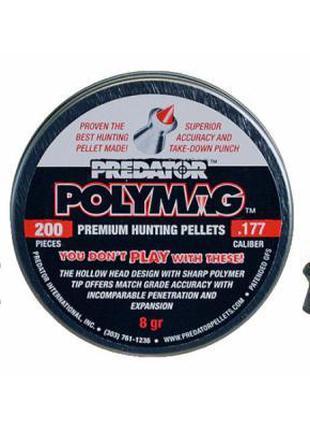 Пули пневматические JSB Polymag 4,5 мм (1001-01-200) 200шт