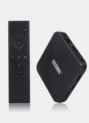 Android приставка Mecool KM9 Pro Deluxe 4/32ГБ, Smart TV Box (...