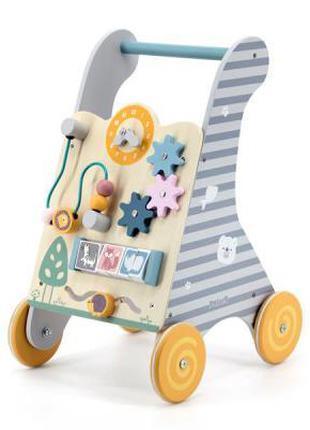 Ходунки Viga Toys PolarB с бизибордом (44028)
