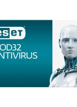 Антивирус ESET NOD32 Antivirus 2ПК 12 мес. base/20 мес продлен...
