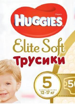 Подгузник Huggies Elite Soft Pants XL размер 5 (12-17 кг) Giga...